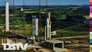 Ariane 5 is a European heavy lift launch vehicle that is part of the Ariane rocket family, an expendable launch system used to deliver payloads into geostati...