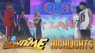 Video It's Showtime Miss Q & A: Vice and Miss Q & A candidates fight over Zeus MP3, 3GP, MP4, WEBM, AVI, FLV Agustus 2018