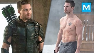 Stephen Amell Training for