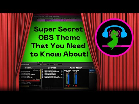 Super Secret OBS Theme That You Need To Know About!