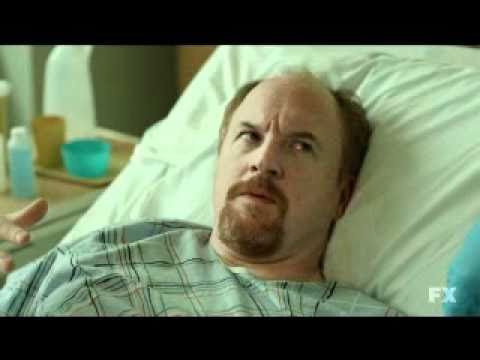 Louie CK and Ricky Gervais.....Hospital visit.