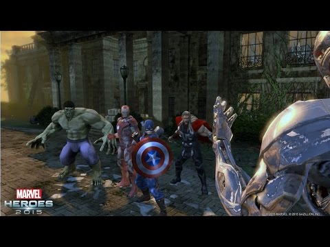 Marvel Heroes 2015 — Content Inspired by Marvel's Avengers