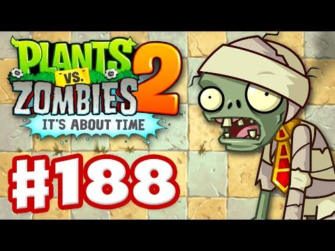 Plants vs. Zombies 2: It's About Time – Gameplay Walkthrough Part 188 – Pyramid of Doom (iOS)