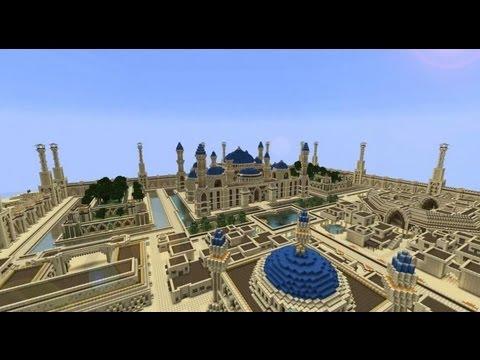Minecraft timelapse arabius city 30 minecraft timelapse arabius city