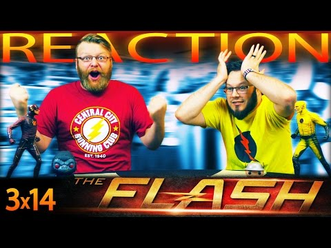 """The Flash 3x14 REACTION!! """"Attack on Central City"""""""