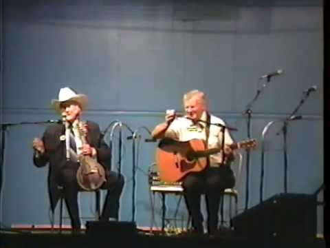 Doc Watson and Bill Monroe performing live together