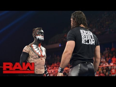 Video Seth Rollins comes face-to-face with The Demon King: Raw, Aug. 15, 2016 download in MP3, 3GP, MP4, WEBM, AVI, FLV January 2017