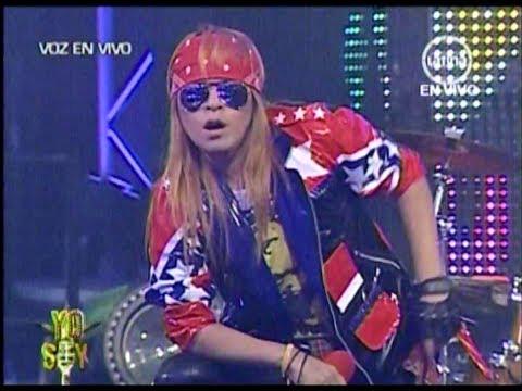Yo soy AXL ROSE 8-08-2012 peru -