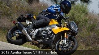 7. MotoUSA First Ride:  2012 Aprilia Tuono V4R