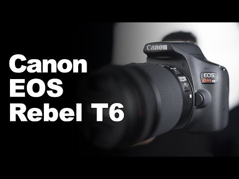 Canon EOS T6 - Review