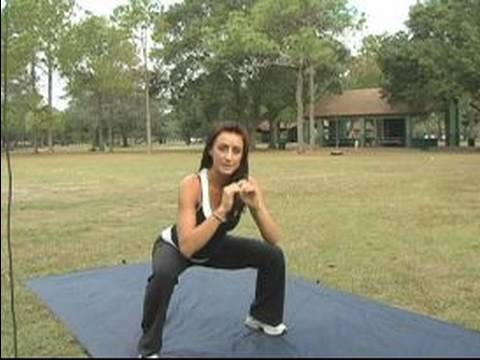 Inner Thighs Workout Exercises : Side Step Lunges for  Inner Thigh Workouts