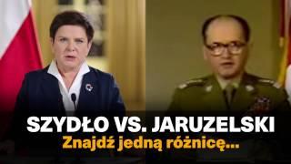 Szydło vs Jaruzelski.