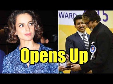 Kangana Ranaut Opens Up On Amitabh Bachchan Winnin