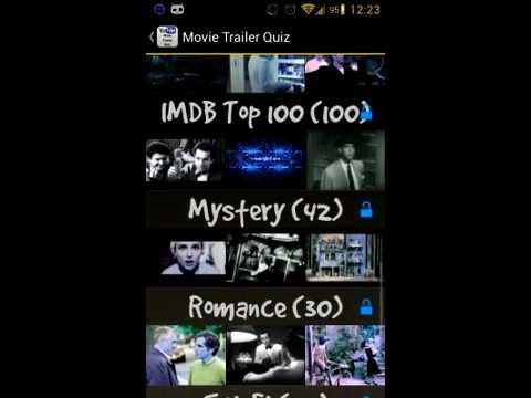 Video of Movie Trailer Quiz