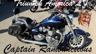 5. 2015 Triumph America LT 1st Ride & Review