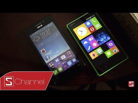 So sánh Nokia X2 vs Zenfone 4.5 : Thiết kế, màn hình, hiệu năng ...- Phần 1