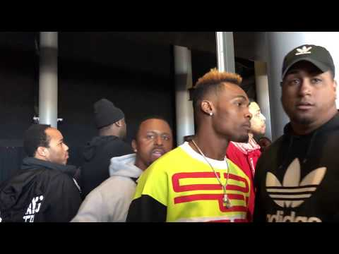 (must See) Jermell Charlo Gets Into It With Gervonta Davis And Adrien Broner