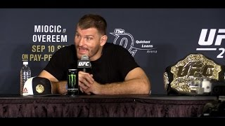 Nonton Stipe Miocic Rejects Alistair Overeem S Claim That He Tapped  Ufc 203  Film Subtitle Indonesia Streaming Movie Download