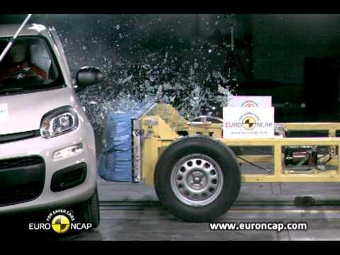 Fiat Panda Euro NCAP   Fiat Panda   2011   Crash test