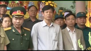 Phường Quang Trung: truy điệu, an táng hài cốt liệt sỹ Lê Quang Phụng