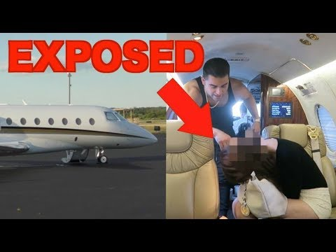 他假扮擁有私人飛機的土豪成功釣到「有男友的正妹」,當她一上飛機…超扯行為讓大家都想吐口水啊!