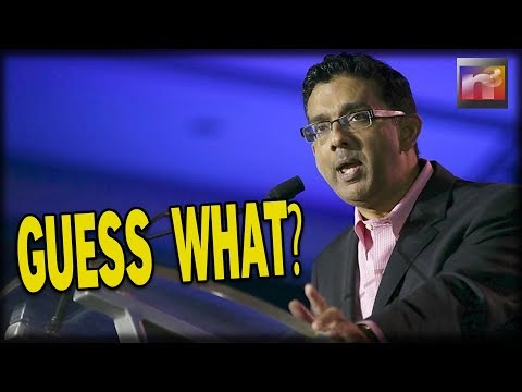 """Dinesh D'Souza SHOCKS with FBI Revelation of what's in His """"File"""""""