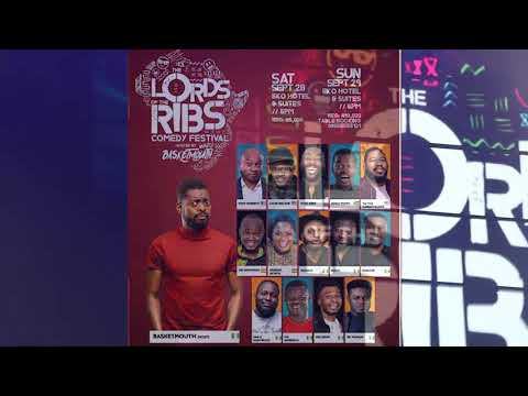 OB Amponsah's SPLENDID! performance at Lord's of The Ribs Comedy festival in Nigeria!!