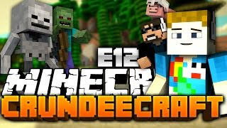 Minecraft: CRUNDEE CRAFT #12 - THOR LIGHTNING TROLL?!