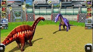 Video Jurassic Park Builder JURASSIC Tournament Android Gameplay Amargasaurus VS Dreadnoughtus MP3, 3GP, MP4, WEBM, AVI, FLV Januari 2019
