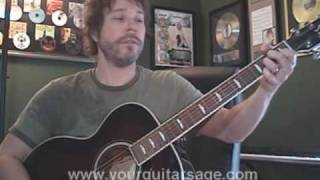 Guitar Lessons - Major Tom by Peter Schilling - shiny toy guns Beginners Acoustic songs