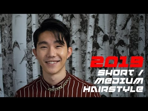 Hairstyles for short hair - HAIR TUTORIAL - Men's Short/Medium Hair Style for 2019 (Inspired by BTS)