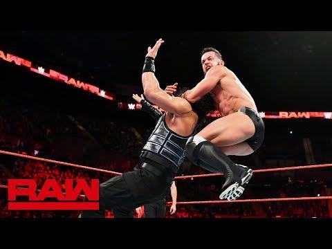 Roman Reigns vs. Finn Bálor vs. Sami Zayn - Money in the Bank Qualifying Match: Raw, May 7, 2018