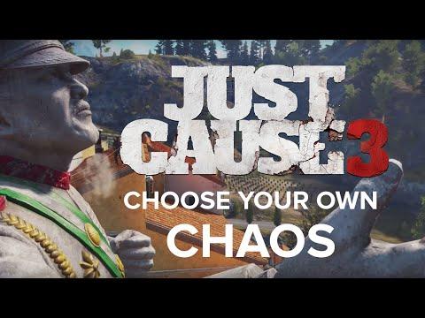 Interaktywny zwiastun prezentujący główne atrakcje gry Just Cause 3