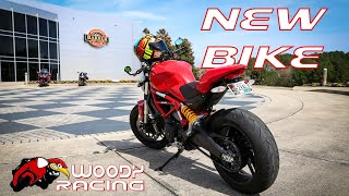 4. New Motorcycle!  (Ducati Monster 797)