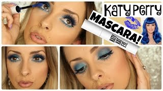 Trying Katy Perry BLUE MASCARA!! by Piink Sparkles