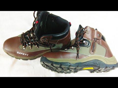 Мужские защитные кроссовки со стальным носком AtreGo / Men's AtreGo Steel Toe Prote… видео