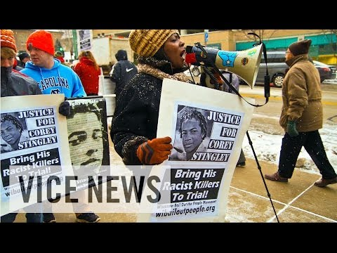 racial - Watch Now on VICE News: http://youtu.be/ZyEVu8NSWcs On December 14, 2012, a young black high school student named Corey Stingley was aggressively restrained ...