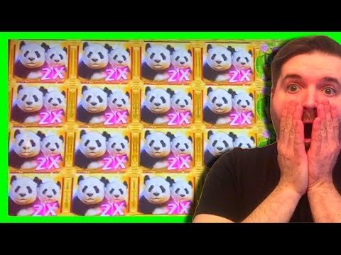 BIGGEST WIN ON YOUTUBE🏮on NEW SLOT DOUBLE HAPPINESS PANDA SLOT MACHINE! MASSIVE WIN W/ SDGuy1234