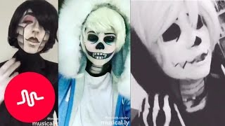 Video Undertale Musical.ly Cosplay Compilation 2017 [Part 4] MP3, 3GP, MP4, WEBM, AVI, FLV Januari 2019