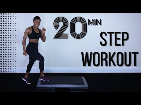 20분 전신 스텝 운동