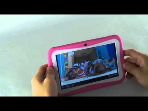 7 Inch Kids Safety Tablet, Wifi Dual Core android 4.4.2 with G Sensor (FREE Screen Protector)