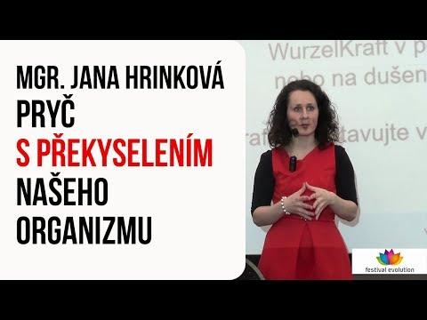 Přednáška: Mgr. Jana Hrinková - Pryč s překyselením