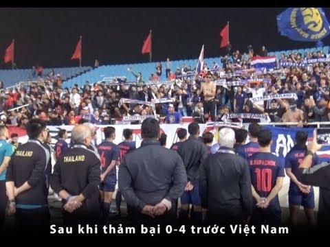 Cầu thủ U23 Thái Lan đứng yên bất động sau trận thua U23 Việt Nam | Thể Thao 247 - Thời lượng: 2:45.