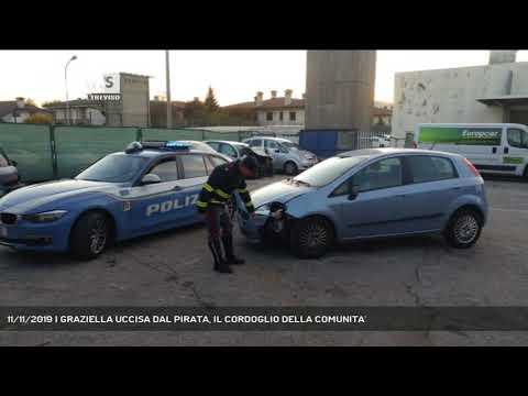 11/11/2019 | GRAZIELLA UCCISA DAL PIRATA, IL CORDOGLIO DELLA COMUNITA'