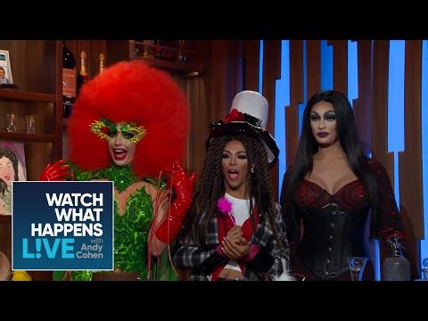 Alyssa Edwards, Tatianna, And Shangela Compete In 'Lip Sync For Your Wife' | RHONJ | WWHL