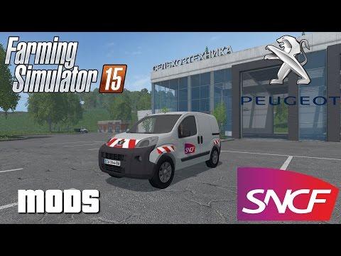 Peugeot Bipper SNCF v1.0