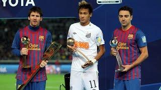 El Barça se proclama campeón del mundo después de rubricar una goleada histórica ante el Santos de Neymar Jr en Japón (2011). A la media parte el ...