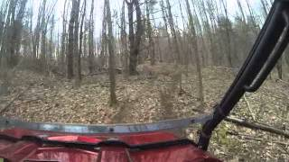 7. 2010 Polaris Ranger 4X4 XP 800 EFI EPS in the woods