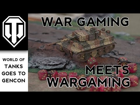 War Gaming with Wargaming: Playing a Tabletop Tanks Game