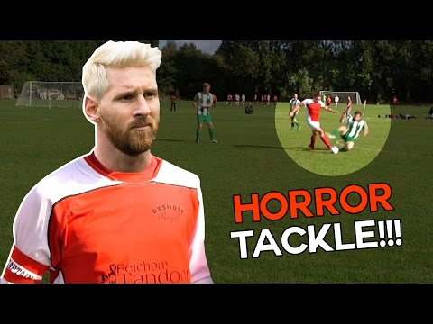 Shocking Horror Tackle 😱 | Sunday League Messi